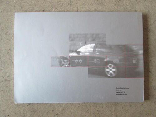 Manuale di istruzioni manuale d/'uso AUDI s3 8l 11.99 tedesco