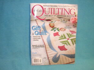 McCall's Quilting May/June 2019 Gift A