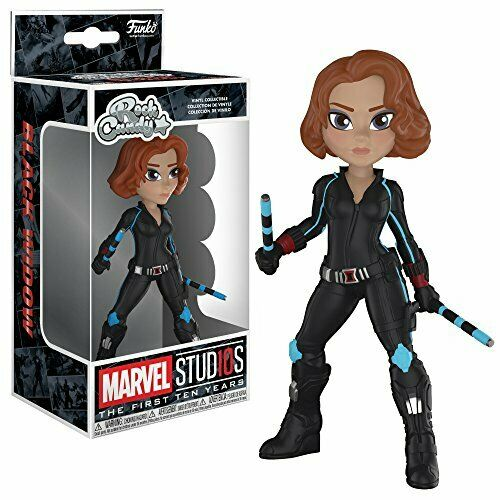 Marvel Studios 10 Funko Rock Candy Black Widow Collectible Figure Multicolor