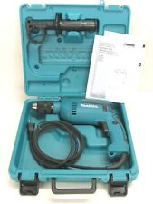 New Makita 58 Electric Hammer Drill With Case Keyless Chuck Hp1641k