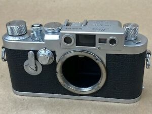 LEICA-IIIG-Vintage-1956-Camera-Body-846878-WORKS-GREAT