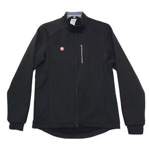 Przewalski NWT Soft Shell Cycling Jacket Mens L Large Black Wind Water Resistant