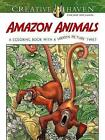 Creative Haven Amazon Animals: A Coloring Book with a Hidden Picture Twist by Jan Sovak (Paperback, 2015)