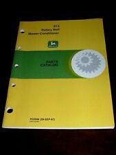 New John Deere 915 Rotary Roll Mower Conditioner Operators Manual
