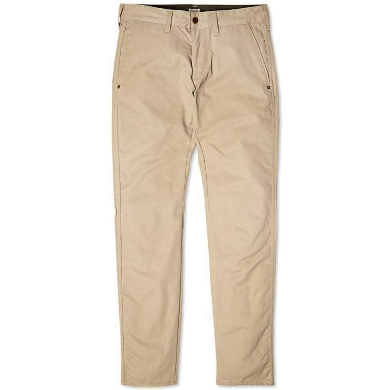 EDWIN 55 CHINO Cadet Sand Unwashed W31in L34in