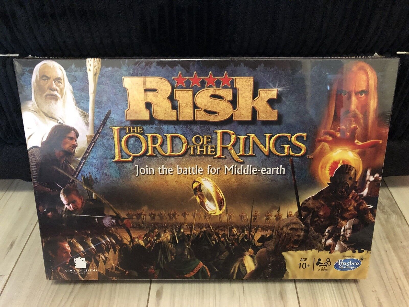 Risk Lord Of The Rings 2014 Hasbro BRAND NEW FACTORY SEALED