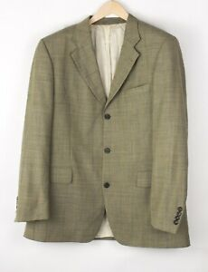 Vintage HUGO BOSS Hommes Artémis Laine Habillé Veste Blazer Taille 2XL (56 - 46)
