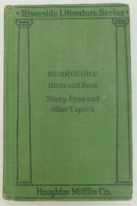 Birds-and-Bees-Sharp-Eyes-and-Other-Papers-JOHN-BURROUGHS-Vintage-Book