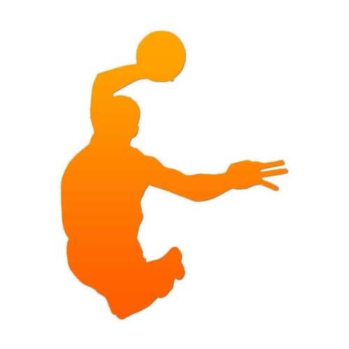 Vinyl Decal Sticker Basketball Dunk ebn85 Multiple Patterns /& Sizes