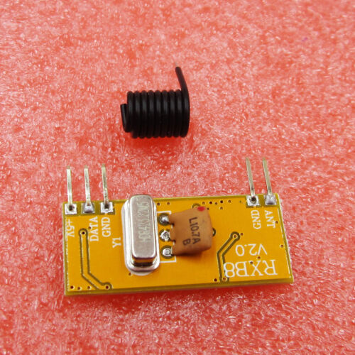 Wireless 433Mhz Superheterodyne Receiver module RXB12//RXB14//RXB8//RXC6//RXB6