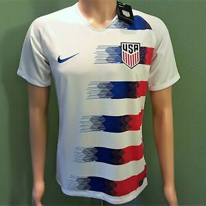 info for 2510b 23866 Details about USA Home 2019 Adult Men's Soccer Jersey White