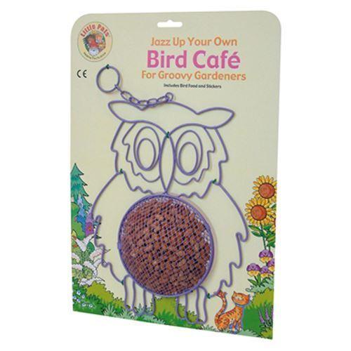 Little Pals Jazz Up Your Own Bird Cafe Owl birdfeeder feeder