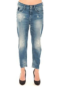 G star Raw Ladies 60682 Type C 3D Loose Tapered bluee Ripped W26 L32