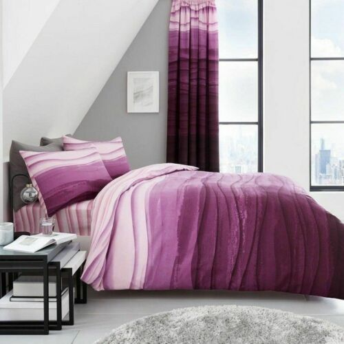 New Wave Ombre Duvet Cover Quilt Bedding Set Pillowcases all sizes and Colors
