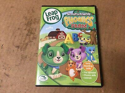 Leapfrog Scout Friends Phonics Farm Shelfpull 65935852094 Ebay