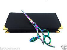 "Professional Hairdressing Scissors Thumb Swivel Shears 6.0"" Multi Stripe */*"