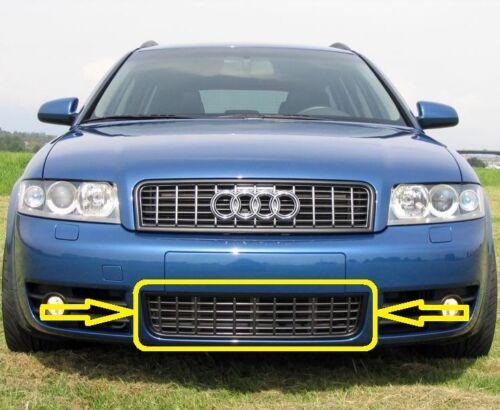 Parachoques Delantero Parrilla Inferior Negro 8E0807647F5PV 00-05 Genuine Audi S4 B6