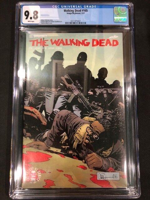 Walking Dead #153 Death of Brandon Rose CGC 9.8 NM//M