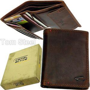 CAMEL-ACTIVE-Vintage-Geldboerse-Portemonnaie-Brieftasche-Geldbeutel-Boerse-NEU