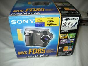 Sony mavica mvc cd1000 digital camera manual.