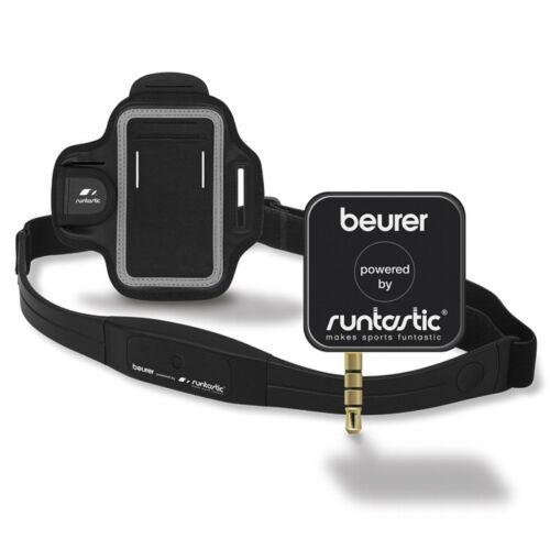 Herzfrequenzmessung mit Smartphones und Runtastic App Beurer PM 200+