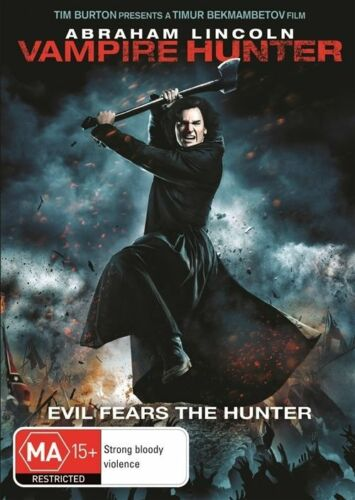 1 of 1 - Abraham Lincoln - Vampire Hunter (DVD, 2012)