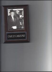GAMBINO FAMILY CHART  8X10 PHOTO MAFIA ORGANIZED CRIME MOB MOBSTER PICTURE