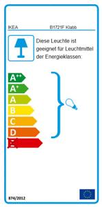 IKEA-KLABB-Tischleuchte-Tischlampe-Leuchte-Lampe-elfenbeinweiss-E14-NEU-amp-OVP