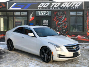 2015 Cadillac ATS Premium 3.6L AWD Sedan - Nav, camera, leather