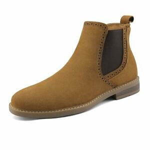 Bruno-Marc-US-Men-039-s-Suede-Leather-Casual-Dress-Ankle-Chukka-Chelsea-Boots-Shoes