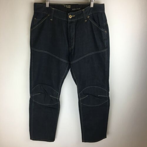 Elwood star G 3089 Circle Taille 36x34 du Narrow Heritage tag Jeans 33x30 WFW4afr