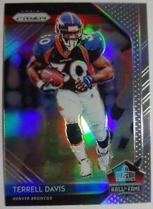 the latest 71a67 313dd Details about 2018 Panini Prizm Hall of Fame Silver Prizm Terrell Davis  #HOF#11 DENVER BRONCOS