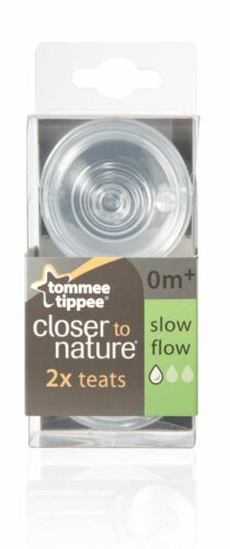 Tommee Tippee Closer to Nature Tétines lent débit