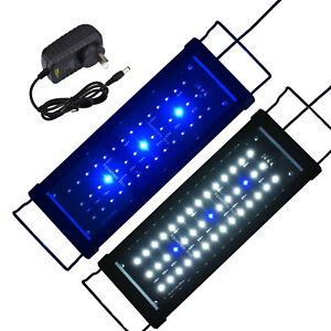 Aquarium-LED-Lighting-Marine-White-amp-Blue-Light-Moonlight-For-35-55cm-Fish-Tank