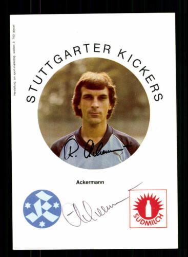 Stuttgarter Kickers Autogrammkarte 1983-84 Original Signiert 1 Karte ausuchen