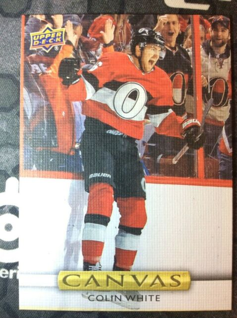 UPPER DECK 2019-2020 SERIES ONE COLIN WHITE CANVAS HOCKEY CARD C-17