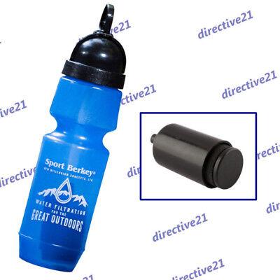 New Sport Berkey Water Bottle /& 1 Replacement Element