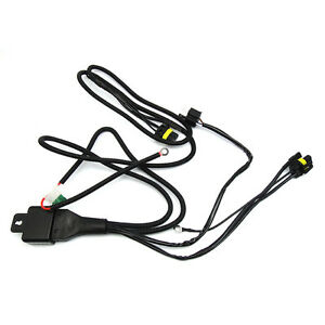 H4/9003 BI Xenon HID Relay Wiring Harness W/ Fuse Dual beam Hi-Low on h4 wiring adapters, h4 wiring lamp, h4 wiring with diode, 12vdc relay wiring, h4 bulb wiring, h4 led wiring,