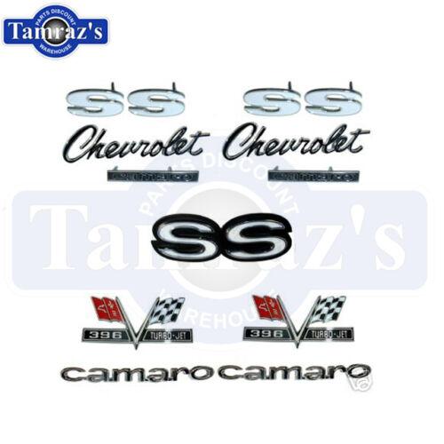 Rally Sport Emblem Kit 67 1967 Camaro 396 Super Sport