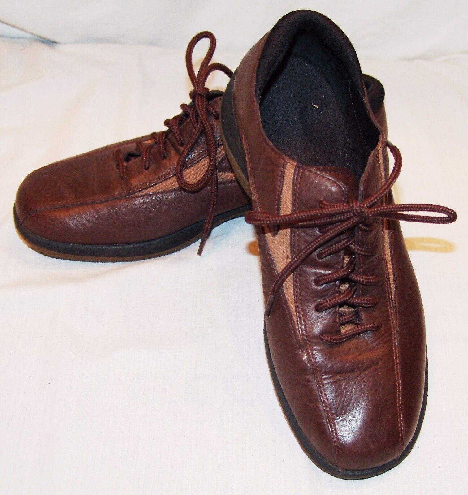 Eastland Lace Up shoes Brown 7 1 2 M Mens Tie Lace Up Casual Leather 7.5