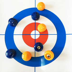 UK Family Curling Table Game Adult Training Kids Tabletop Ball Game Fun Toy SALE