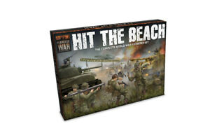 Flames-of-War-BNIB-Hit-The-Beach-Two-Player-Army-Set-FWBX09