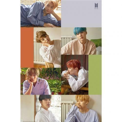 BTS Poster Collage 159 Official Merchandise
