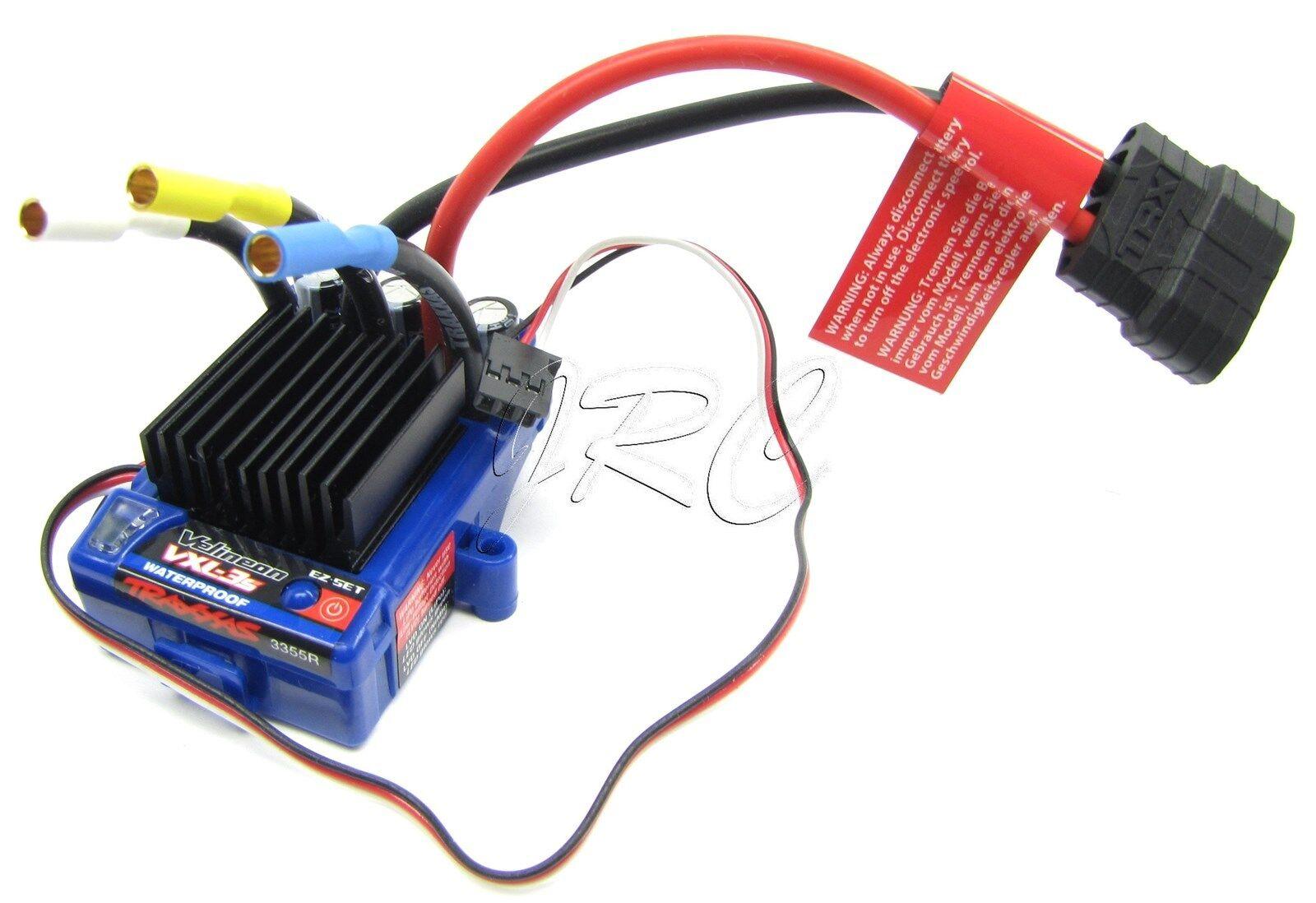 RUSTLER VXL Speed Control VELINEON VXL-3s ESC Bandit Slash Stampede Traxxas 3707