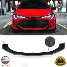 Carbon Fiber Front Bumper Lip Splitter Spoiler For Toyota Corolla Camry 2000 21 Fits Toyota Supra