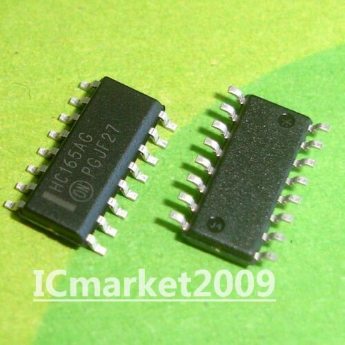 10 PCS MC74HC165ADR2G SOP-14 HC165AG 74HC165 8−Bit Serial or Parallel−Input