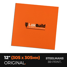 """LokBuild : 3D Print Build Surface - 12"""" (305 x 305mm)"""