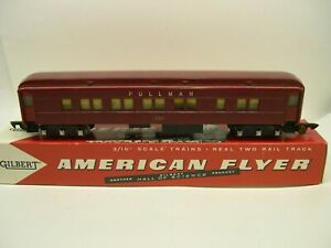 662-American-Flyer-Red-Pullman-Heavyweight-Passenger-Car-Lot-L11-P8