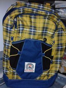 Zaino-Invicta-double-xtracks-360-reversibile-scozzese-2-colore-oro-blu
