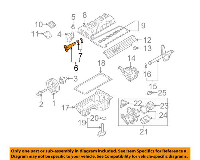 BMW OEM Vanos Control Valve Solenoid 11367585425